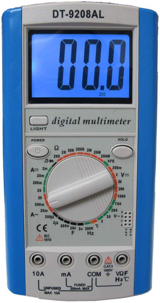 Multimeter Professional Multimeter with Both AC/DC Voltage and 20A Current  Measurement, Large Current Checking Up to 20A, INNOVA 3320 Upgraded