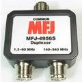 MFJ-4956S  DUPLEXER, HF+6M/140-540 MHZ, 500/300W, SO-239