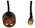 MFJ-5606SR  *WIFI CABLE, SMA MALE RP- N MALE, RG174, 6FT