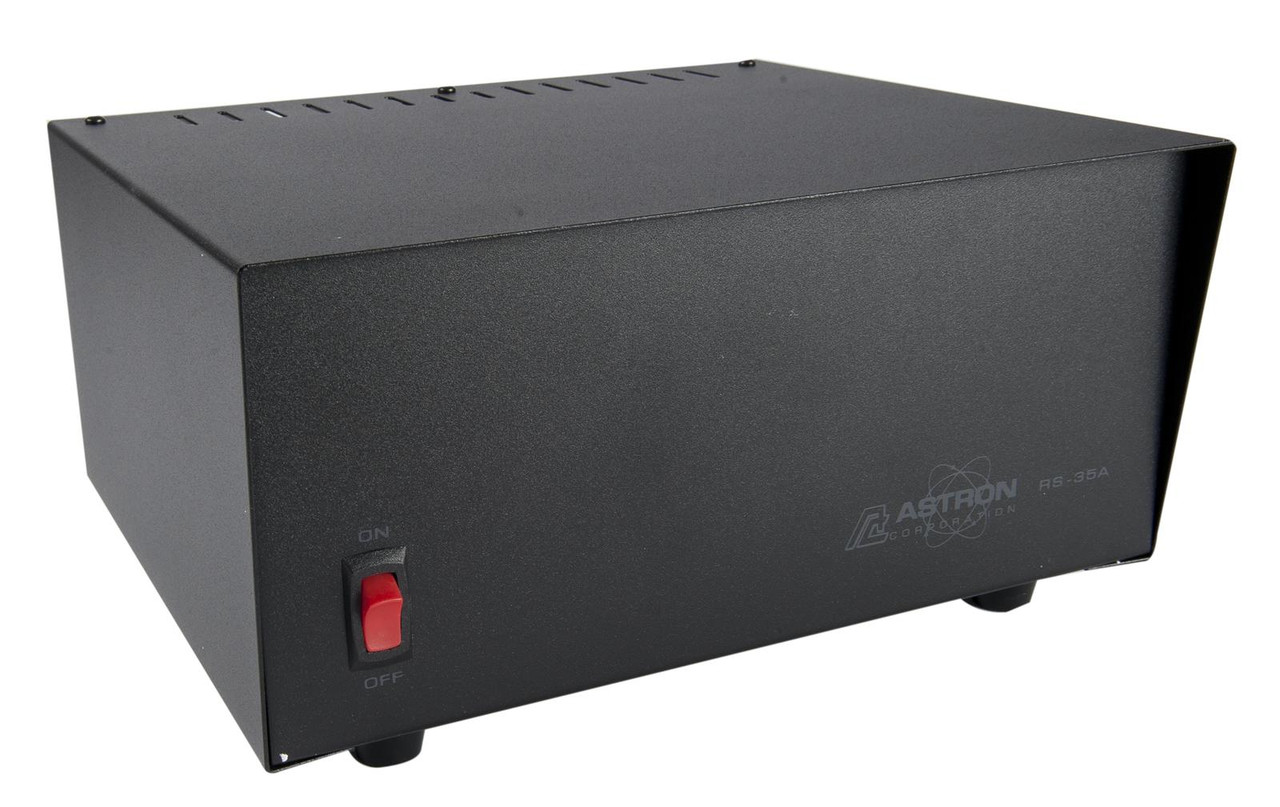 ASTRON RS-35A-AP 35 Amp Linear Power Supply W Anderson Power Poles