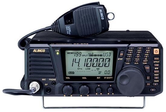 ALINCO DX-SR9T HF SDR (100W) All Mode Mobile (SSB, CW, AM, FM)