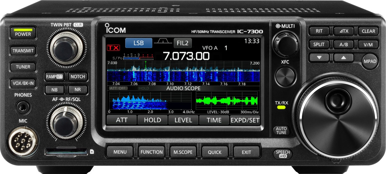 Package Deal Icom IC-7300 and IC-9700 And SM-30 Microphone $2741 after MIR