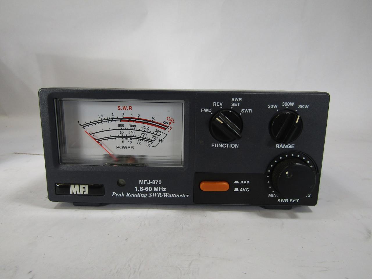 U5116 Used MFJ-870 Grand Master SWR/Watt Meter