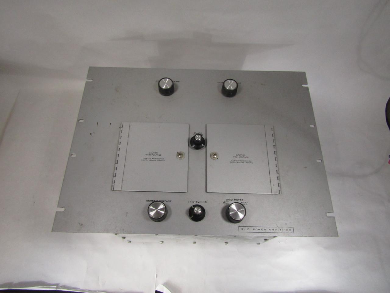 U5125 Used VHF RF Amplifier