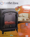 "Comfort Zone(r) COMFORT ZONE CZFP4 21.5"" Fireplace Electric Stove,"