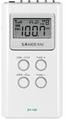 SANGEAN DT-120 AM/FM STEREO DIGITAL TUNIGN POCKET RADIO (WHITE)