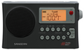 SANGEAN PR-D4W AM/FM WEATHER ALERT PORTABLE RADIO WITH AM AUTO-TRACKING & BANDWIDTH NARROWING