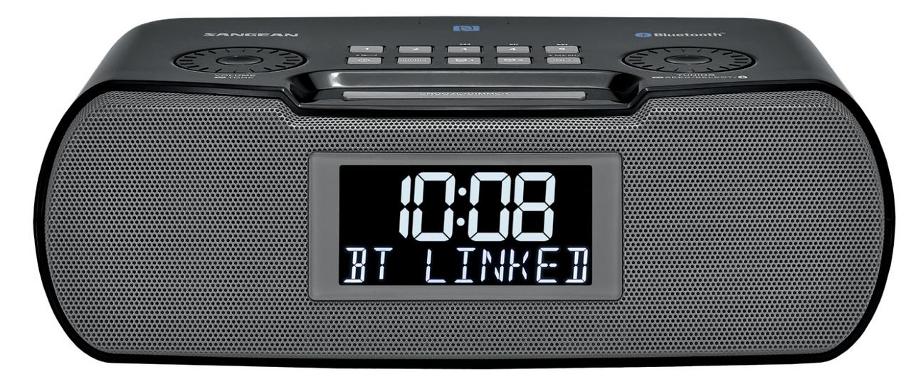 Sangean RCR-22 AM//FM Tuning Clock Radio White White