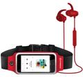 HyperGear ActiveGear Wireless Earphones + Sport Belt RED