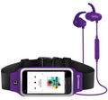 HYPERGEAR ACTIVEGEAR WIRELESS EARPHONES + SPORT BELT PURPLE