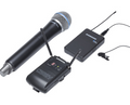 Samson Concert 88 Camera Combo Wireless System with Q8 Dynamic Microphone and LM10 Lavalier Microphone, Channel D