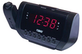 NAXA ELECTRONICS NRC-173 PROJECTION DUAL ALARM CLOCK, LED DISPLAY, INTEGRATED WITH AM/FM RADIO