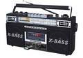 QFX J-22UBK RERUN X RADIOAM FM Shortwave AND CASSETTE TO MP3 CONVERTER - BLACK