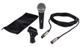 PROFESSIONAL DYNAMIC MICROPHONE UNIDIRECTIONAL W Cable and Bag