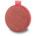 iLive Water Resistant Wireless Fabric Speaker, ISBW8, Pink Bluetooth