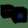 """Sequence by Steren Premier Series 8"""" 150-Watt Front Firing Powered Subwoofer 730-405BK"""