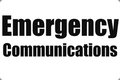 "12"" x 18"" Emergency Communications Car Magnetic Sign $Sale"