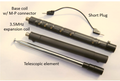 Comet HFJ-350M 3.5 - 50MHz 9-Band Portable Telescopic Antenna HFJ-350M 3.5 - 50MHz 9-Band Portable Telescopic Antenna IC-705