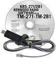 RT Systems KRS-271 Programming Software and USB-K5D for the Kenwood TM-271/TM-281