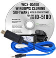 RT-SYSTEMS WCS-D5100 Programming Software and USB cable for Icom ID-5100 RT SYSTEMS