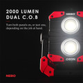 NEBO OMNI 2K Rechargeable Work Light