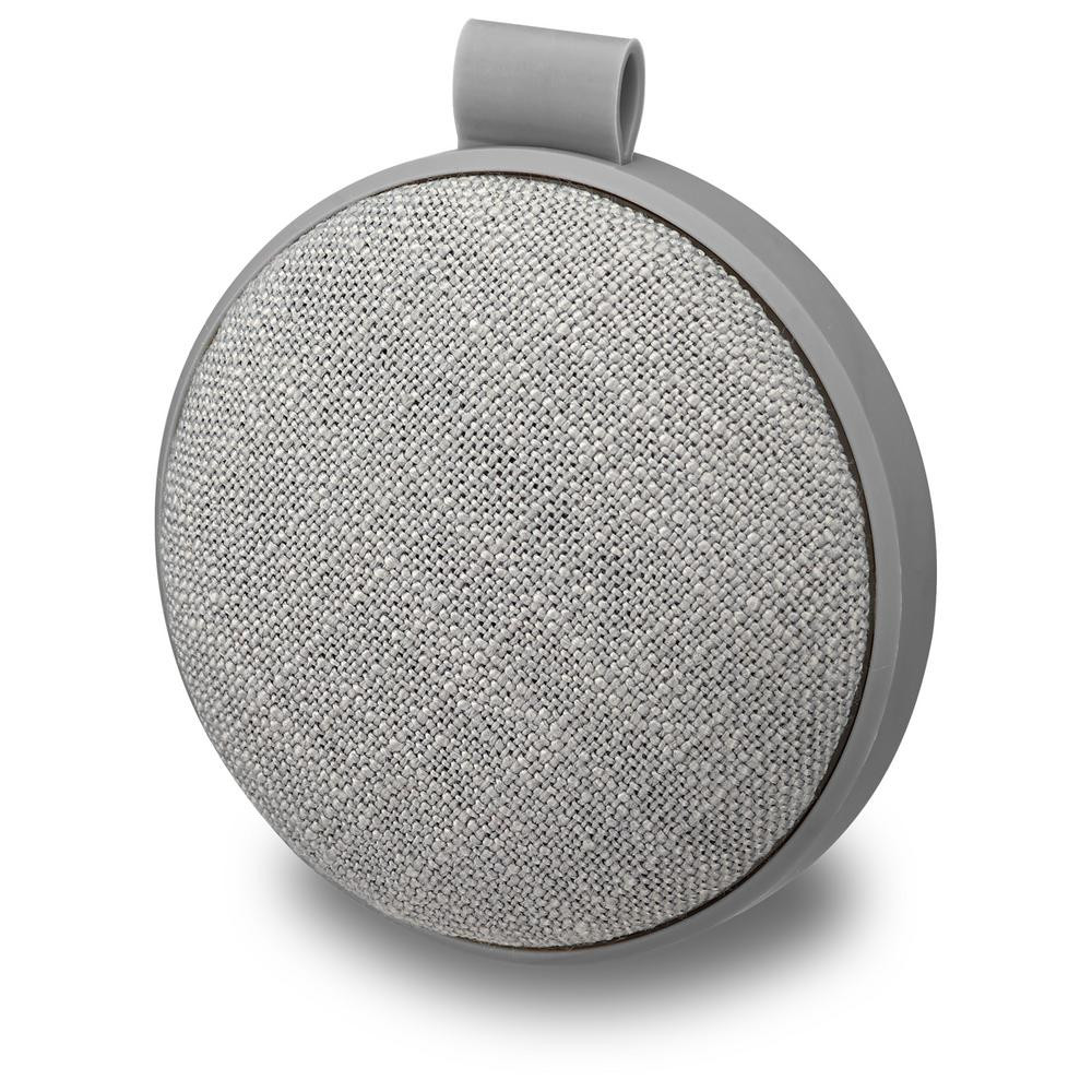 Ilive Water Resistant Wireless Fabric Speaker Isbw8 Gray Bluetooth Main Trading Company