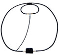 Icom AL-705 Magnetic loop antenna 40m-10m by Alpha. Max. 20W CW For Ic-705
