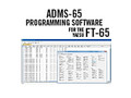 ADMS-65 Programming Software and USB-55 cable for FT-65