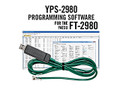 YPS-2980 Programming Software and USB-29F cable for the Yaesu FT-2980