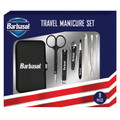 Barbasol CBG1-1002-SLV 8-Piece Travel Manicure Set
