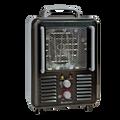 Comfort Zone CZ798BK Utility Milkhouse Ham Shack Portable Heater with Thermostat, Black