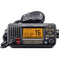 RKB Icom IC-M324G 21 Refurbished Icom IC-M324G 21 Black Fixed Mount VHF Marine Transceiver w/ GPS Receiver - Black
