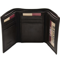 Black Canyon Outfitters RFID  Blocking Men's Wallet TriFold