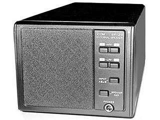 ICOM IC-SP23 EXTERNAL SPEAKER WITH SELECTABLE INPUT/FILTERS