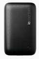 Iessentials 6,000mAh Power Bank (Black) Emergency Back up