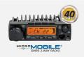 Midland MXT400 MXT400 GMRS 40 Watt MicroMobile