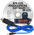RT Systems APK-635 Programming Software and USB-29A for the Alinco DR-635