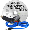 RT Systems PK-135 Programming Software and USB-29A cable for the Alinco DR-135