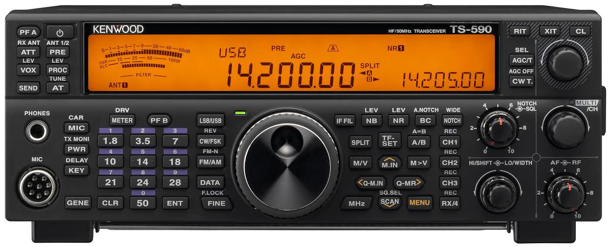 Kenwood TS-590SG HF plus Six Meter 100 Watt Full DSP