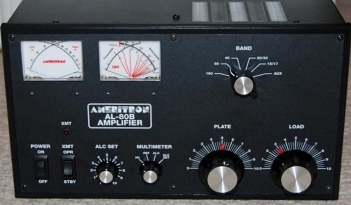 Ameritron AL-80B HF Amplifier, 1KW, (1) 3-500Z Tubes, Domestic 120VAC
