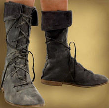 Gladiator Leather Boots