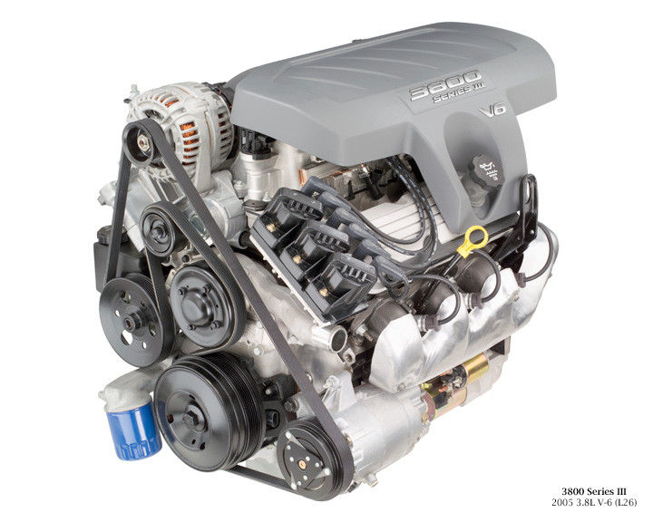 L26 3800 Series III Non-supercharged Engine - Milzy ...