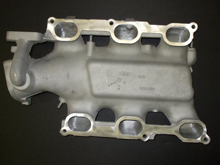 Ported and Polished 3100/3400/3500 Upper Intake Manifold