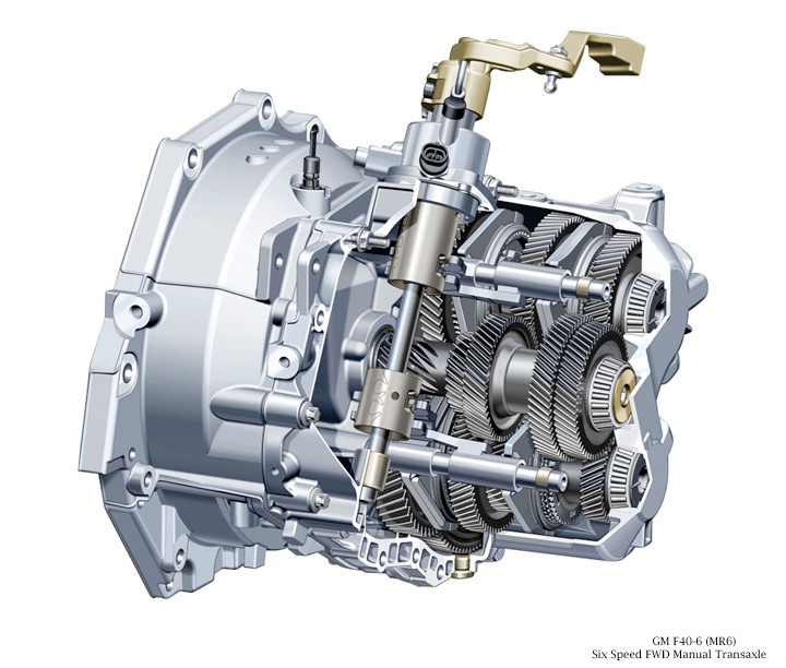 6 Speed Transmission >> F40 6 Speed Transmission
