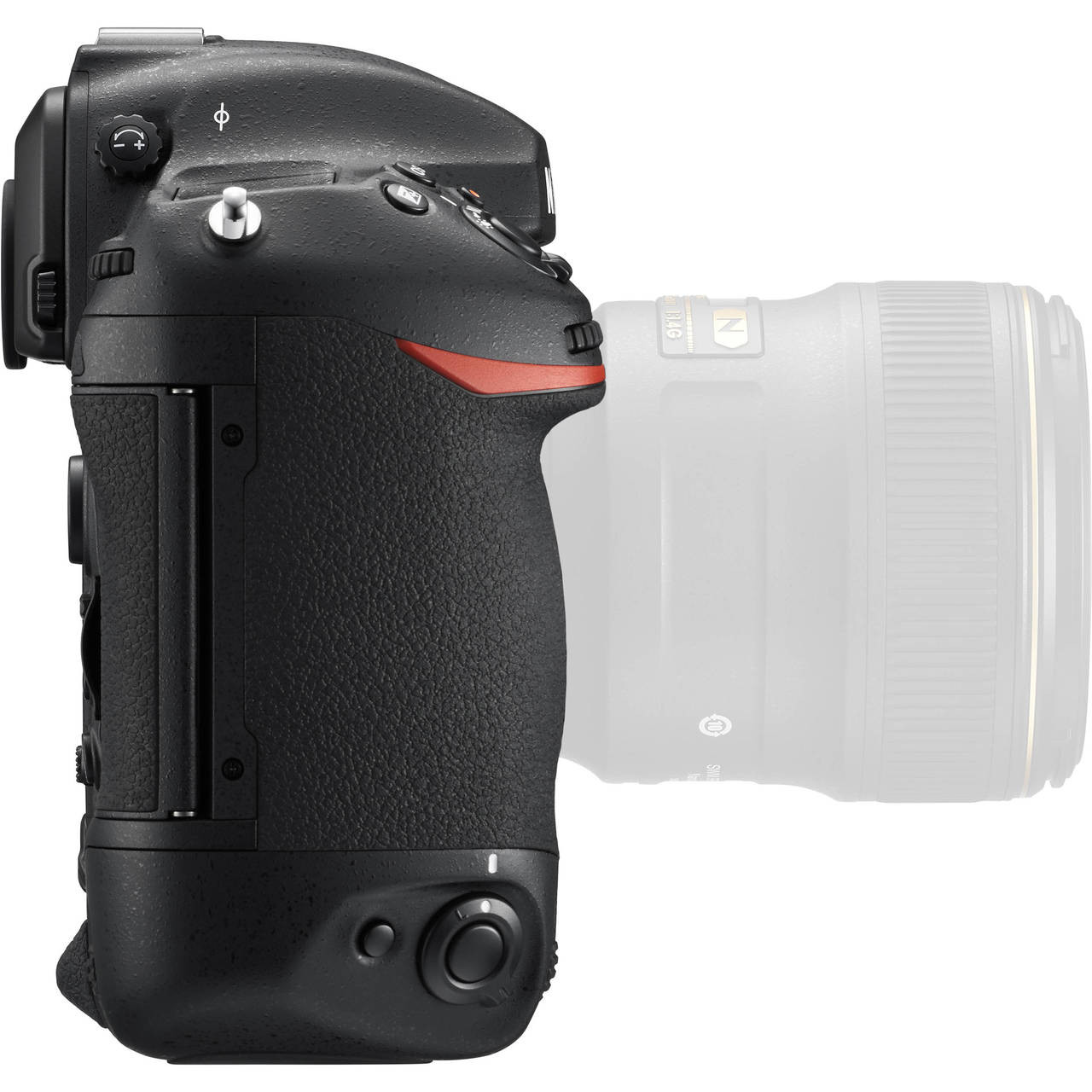 Nikon D5 Body with Dual CF Slots Right Side
