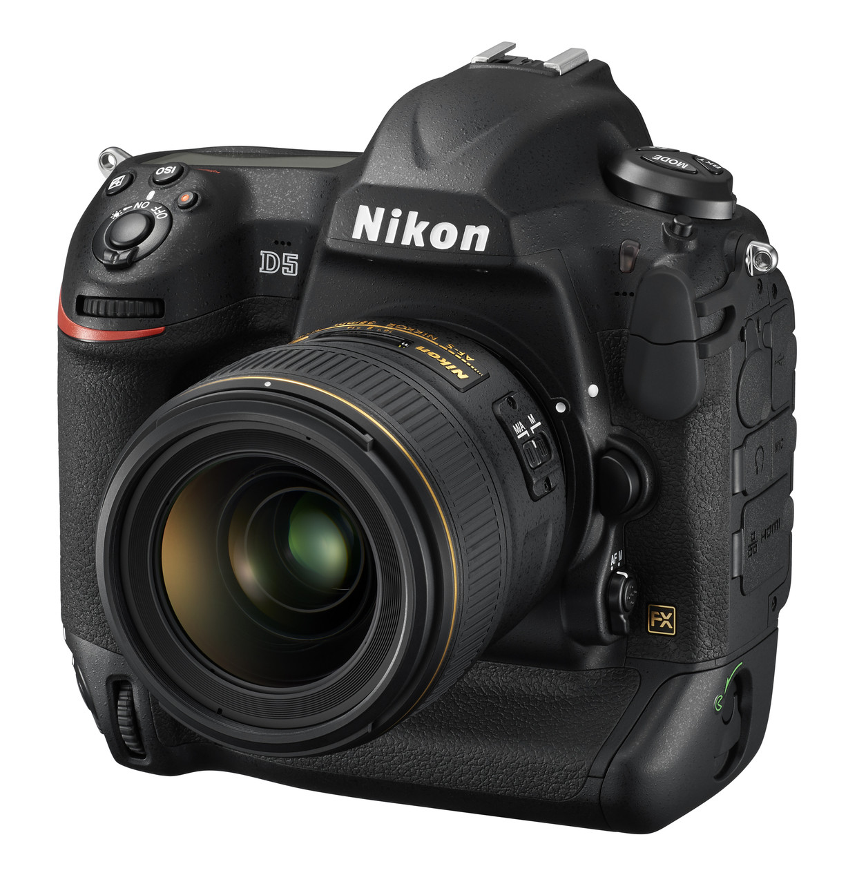 Nikon D5 Front Left