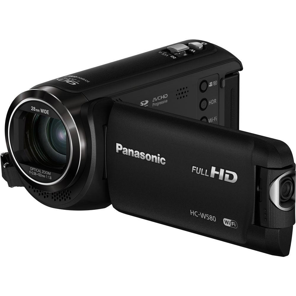 Panasonic HC-W580K Full HD Camcorder with Twin Camera ...