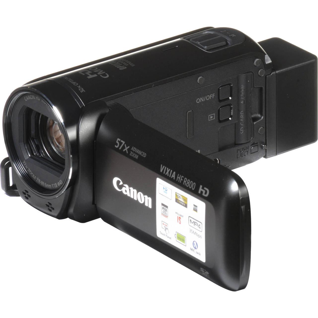 22d8944f9b3 Canon VIXIA HF R800 Camcorder (Black) - Ace Photo