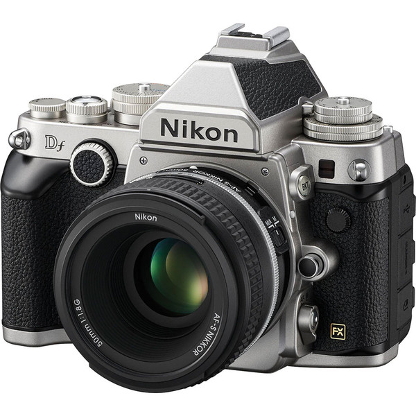 Nikon Df Silver Front Right
