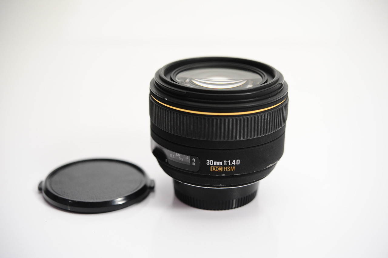 Pre Owned Sigma 30mm F14 Dc Hsm For Nikon 8 Ace Photo F 14 A Canon